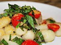 Gnocchi with Parmasan Replacer