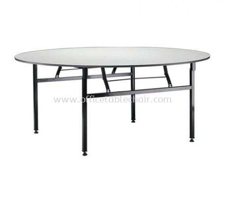 ROUND BANQUET TABLE (16mmTHK Melamine Top)