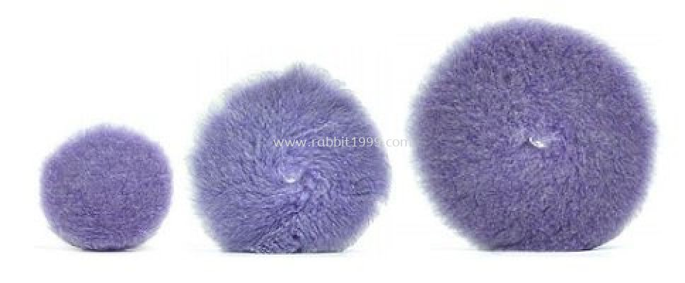 OSREN PURPLE FOAMED WOOL