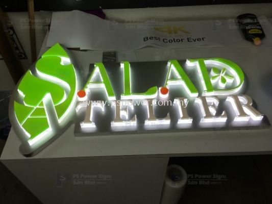 LED Signage - SALAD TELIER