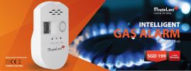 Gas Alarm (Model : ML-V) Gas Alarm
