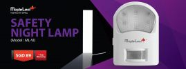 Safety Night Lamp (Model : ML-VI) Safety Night Lamp