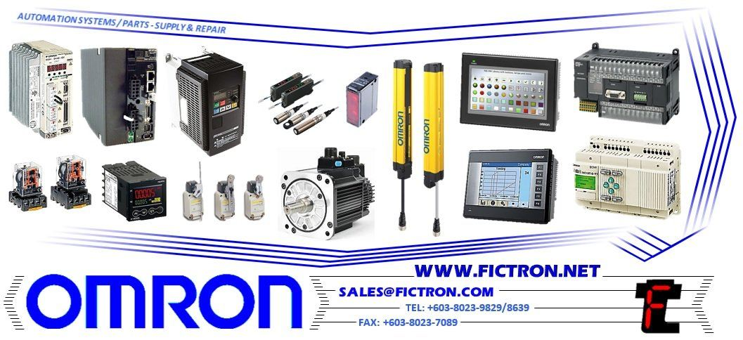 Omron Automation Systems Supply Repair Oct 11 2018