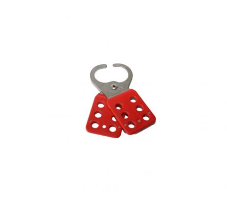 Cirlock Stainless Steel Lockout Hasp - With Red Coating