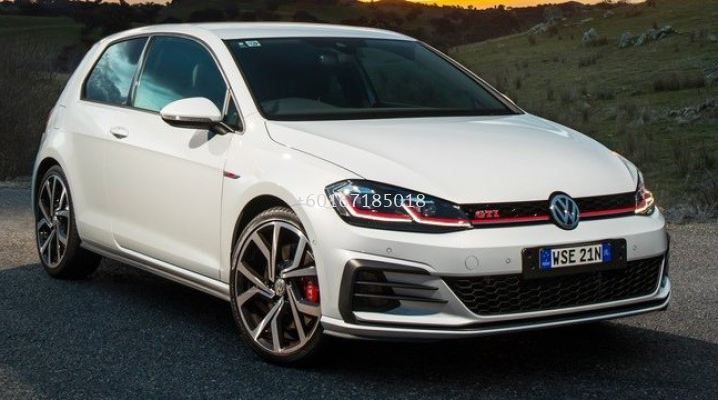 2017 2018 volkswagen golf 7.5 bumper gti bodykit new