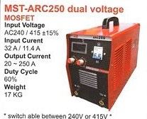Mostar Welding Machine MST-ARC250