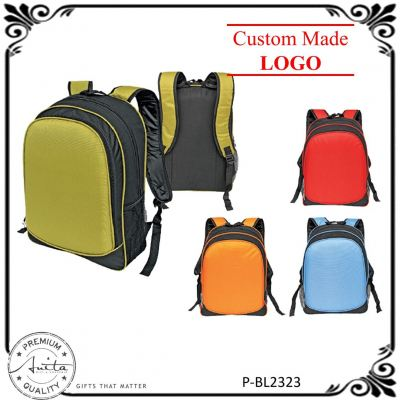 High-Quality Colorful Officer & Student Travel / Gift Laptop Backpack P-BL2323