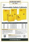 Flammable Safety Cabinets Durham