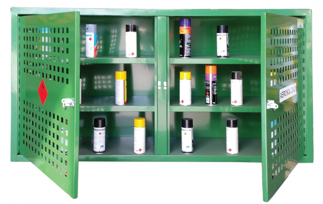 Spill Station Aerosol Storage Cages