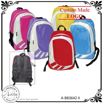 Rainbow Color Large Student Officer Travel Sport Gift Backpack A-BB3642-II