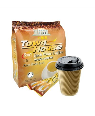 Town House 3 in 1 Ipoh White Coffee Ð¡ÕòÎÝÈýºÏÒ»âù±£°×¿§·È