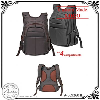 4 Compartments Durable Officer Student Travel Gift Laptop Backpack A-BL9260-II