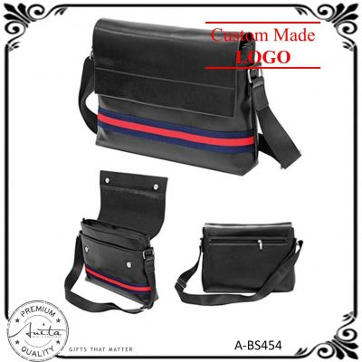 Fashion Durable Student Officer Travel Gift Document Sling Bag A-BS454