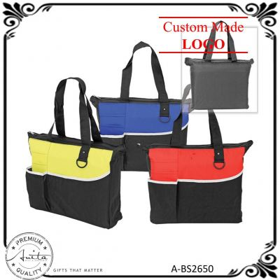Colorful Hand Carry Light Weight Multipurpose Document Shopping Bag A-BS2650