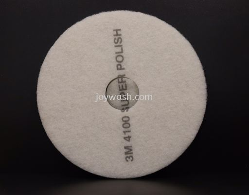 Buffing Pad White 16 Inch 4100
