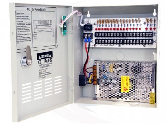 DC12V 10Amp Power Distribution With Metal Box