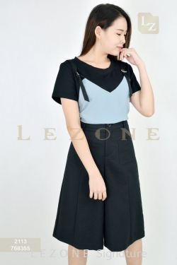 768355 POCKET DETAIL CULOTTES 【Online Exclusive Promo 41% OFF】
