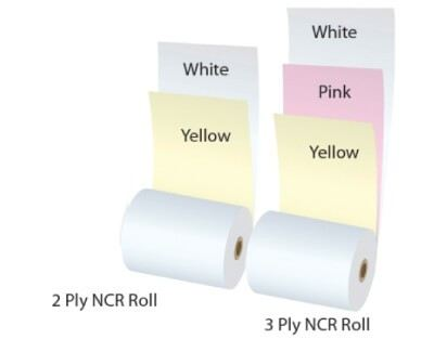 CARBONLESS-NON CARBON REQUIRED (NCR) PAPER ROLL Paper Rolls