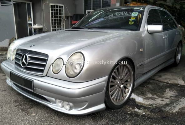 MERCEDES BENZ W210 1995 - 2002 NEW AMG BODYKIT