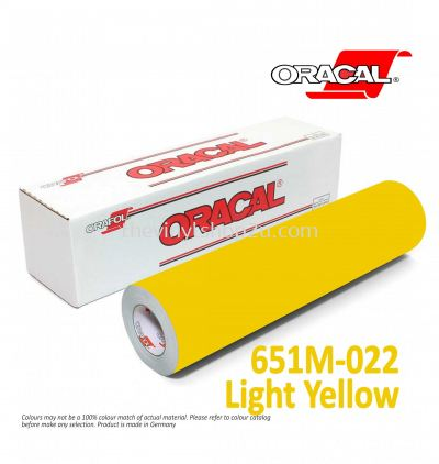 ORACAL® 651 INTERMEDIATE CAL - M022