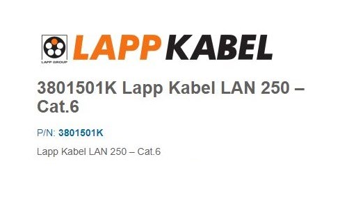 Data cable Lapp Kabel ELV CABLE / ICT CABLE