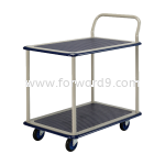 Prestar NB-114 Double Deck Single-Handle Trolley