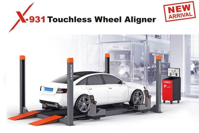X931 Touchless Wheel Aligner