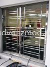 304 Local Stainless Steel Sliding Grille  Stainless Steel Grille