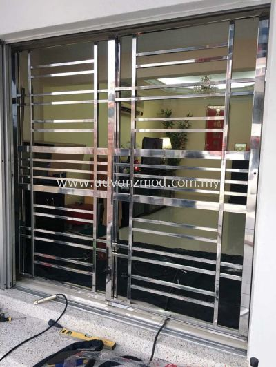 304 Local Stainless Steel Sliding Grille
