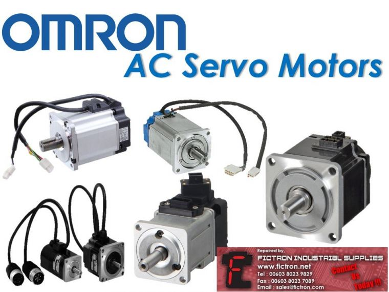 OMRON AC Servo Motor Supply & Repair