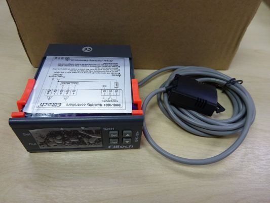 ELITECH DIGITAL HUMIDITY CONTROLLER DHC-100+ (220V) C/W PROBE