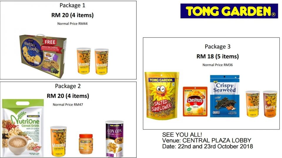 Tong Garden Promotion @ 22-23 October 2018