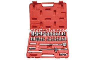 32PCS WORKER SOCKET SET WRENCH (SET)(8-32MM)