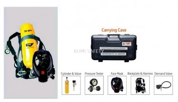 Self Contained Breathing Apparatus c/w 6Ltr Cylinder (SCBA)