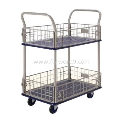 Prestar NB-127 Double Deck Side-Net Trolley