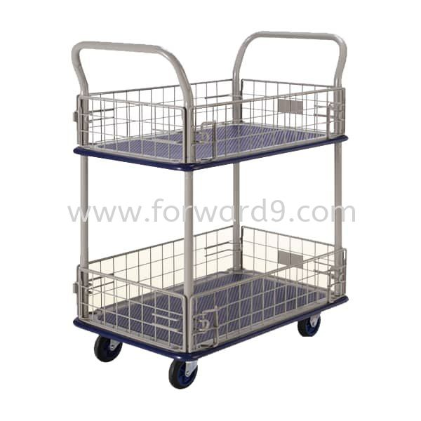 Prestar NB-127 Double Deck Side-Net Trolley Prestar Series  Truck and Trolley Material Handling Equipment