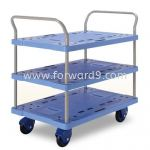 Prestar PF-305-P Triple Deck Dual-Handle Trolley