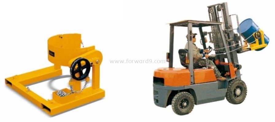 HK285A Forklift Drum Rotator