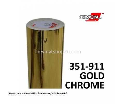 ORACAL 351 Metallised Films - 911