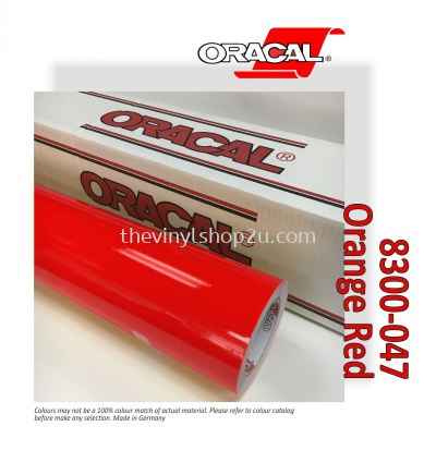 ORACAL 8300 TRANSPARENT CAL FILMS - 047