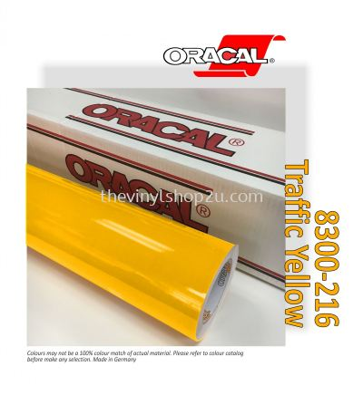 ORACAL® 8300 TRANSPARENT CAL FILMS - 216