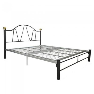 Dominique Queen Size 3V Powder Coat Metal Bed Frame