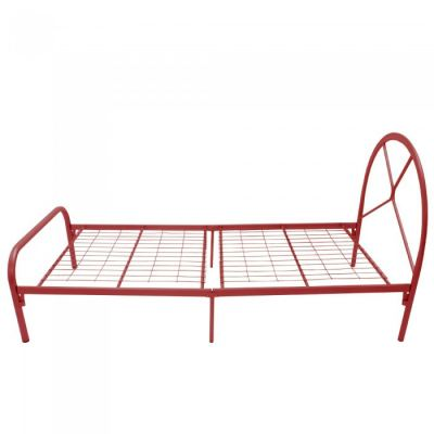PESARO Single Powder Coat Metal Bed Frame