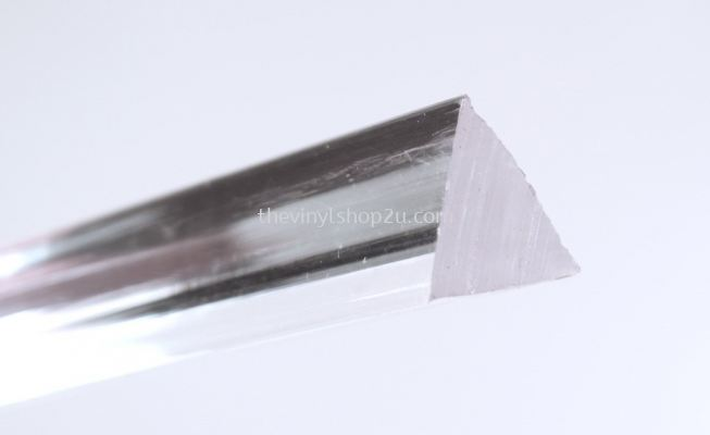 ACRYLIC EXTRUDED TRI-ANGLE ROD - 3.0MM