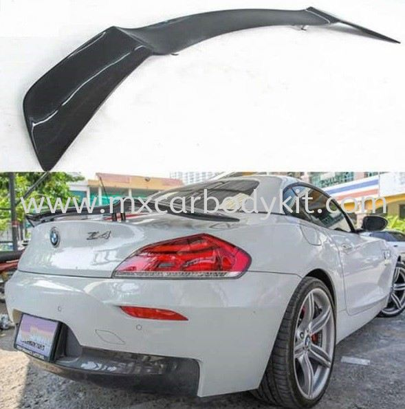 BMW Z4 E89 2009 REAR SPOILER CARBON Z4 BMW Johor, Malaysia, Johor Bahru (JB), Masai. Supplier, Suppliers, Supply, Supplies | MX Car Body Kit