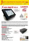 LAUNCH X-431 PAD III V2.0 (NEW ARRIVAL)