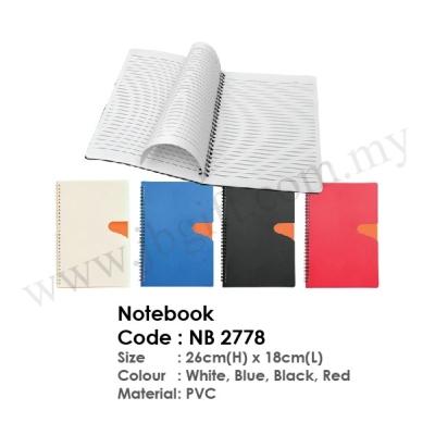 Notebook NB 2778