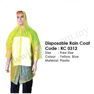 Disposable Rain Coat RC 0312