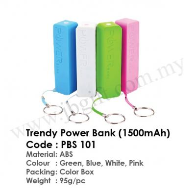 Trendy Power Bank (1500mAh) PBS 101