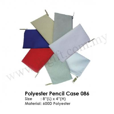 Polyester Pencil Case 086